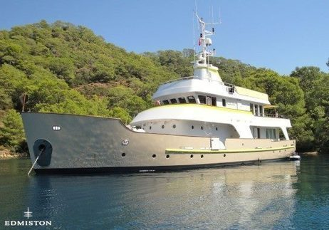 """LADY DIDA"" the 30m converted expedition yacht. 