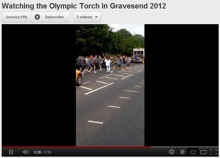 Muslim youth disrupts Olympic Torch procession | The Indigenous Uprising of the British Isles | Scoop.it