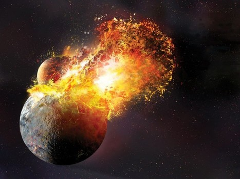 #Earth had a collision with #Theia #history #science | Limitless learning Universe | Scoop.it