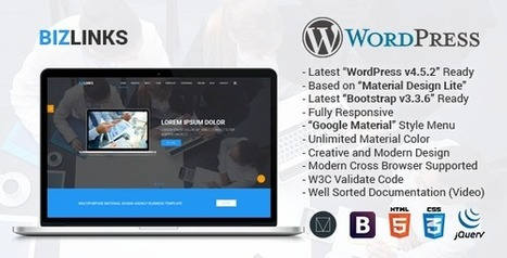Best Responsive Multipurpose WordPress Theme For All Kind Of Business & Agency – ThemeLooks | High Pr Do-Follow Social Bookmarking site list 2013 August for site seo | Scoop.it