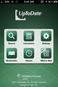 [#iOS] Native UpToDate app for the iPhone | Medical Apps | Scoop.it