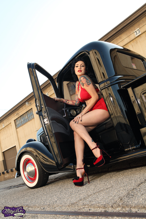 Exclusive Look at 2014 Pin Up Calendar From Mitzi & Co. Photography | Tattoo Rockstars | Scoop.it