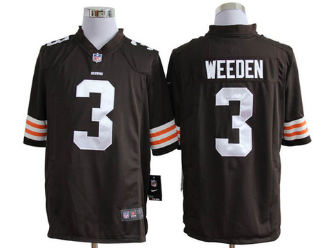 Birthday Gift Cheap Nike Cleveland Browns 3 Weeden Game Team Color Best Online China Shop   hotwhole.com  - cheap nike jerseys   Scoop.it
