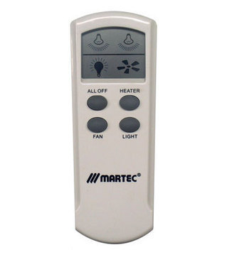 Martec Bathroom Heater Remote Kit -  $119.99 | Ceiling Fans Lights | Scoop.it