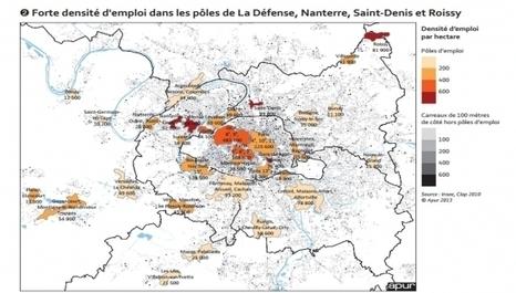 La nouvelle géographie de l'emploi parisien : totalement à l'ouest ! | Accès à l'emploi | Scoop.it