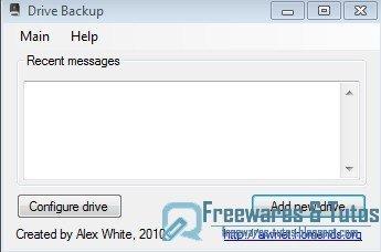 Drive Backup : un petit logiciel pour sauvegarder des fichiers sur votre clé USB (ou inversement) | Je, tu, il... nous ! | Scoop.it