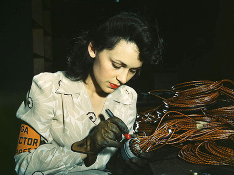 Rare color photos from 1930s-40s Pictures - CBS News | Histoire des Arts au collège | Scoop.it