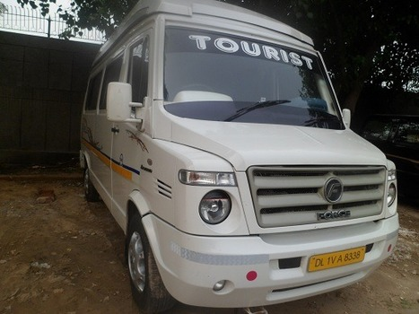 Tempo Traveller 8 Seater | Tempo Traveller Hire in India | Scoop.it
