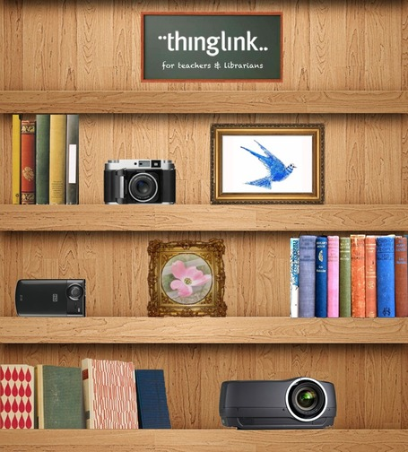 Free Technology for Teachers: An Interactive Mind Map Made With Thinglink | FLE TICE multimédia éducation_aux_médias | Scoop.it