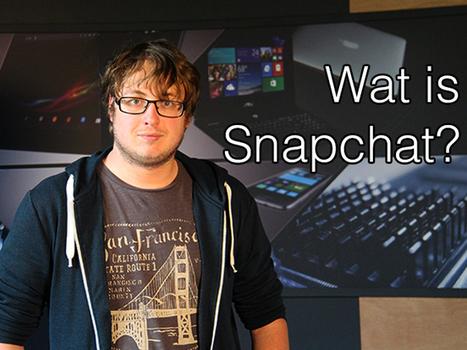 Wat is Snapchat? - video | Mediawijs worden? | Scoop.it