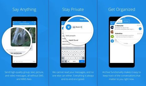Private Messaging Apps for iPhone and iPad - AppDazzle | Ebuzznet | Scoop.it
