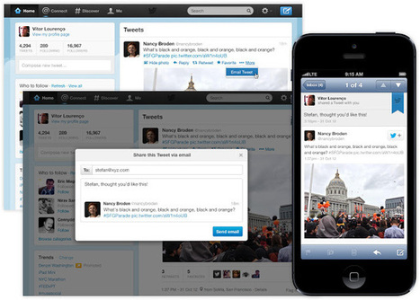 Now You Can Email Your Tweets - Seo Sandwitch Blog | Business in a Social Media World | Scoop.it