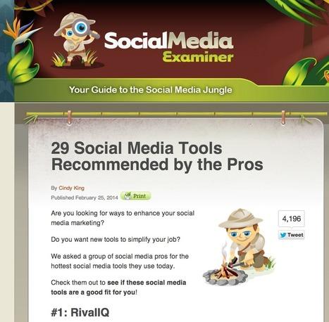 Social Media Tools Useful for Teaching English ESL TEFL | Using Educational Technology for Adult ELT | Scoop.it