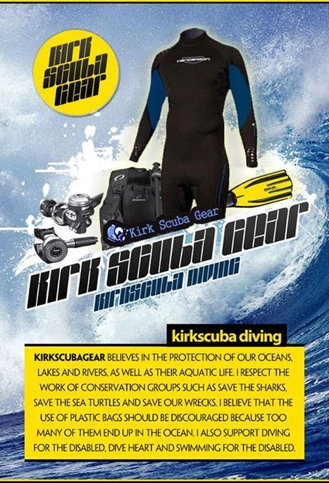 Kirk Scuba Gear dives in with new prices, look | All about water, the oceans, environmental issues | Scoop.it