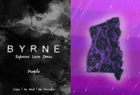 (BYRNE) EspanaLaceDress-PurpleGIFT | 亗 Second Life Freebies Addiction & More 亗 | Scoop.it