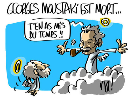 Georges Moustaki est mort… | Baie d'humour | Scoop.it