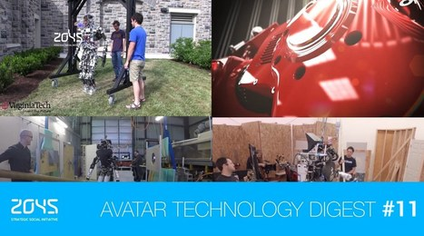 #11 Avatar Technology Digest / Robotic cheetah project / DARPA Robotic Challenge / Origami robot - YouTube | Perception | Scoop.it