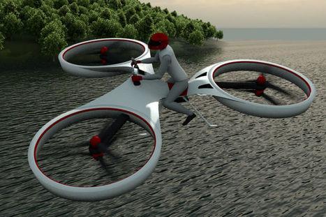 L'industrie c'est fou : mi-vélo, mi drone, voici le flike ! | Mobilité du futur & Smart City | Scoop.it