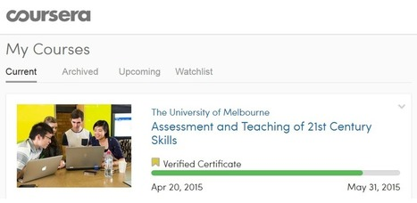 My Coursera Experience – Quality Professional Development, and an Inexpensive Verified Certificate | Studying Teaching and Learning | Scoop.it