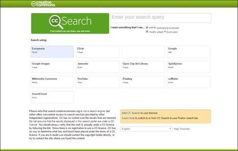 Edu-Curator: 2 Websites om te zoeken naar gratis foto's met een Creative Commons Licentie | Auteursrecht en Creative Commons | Scoop.it