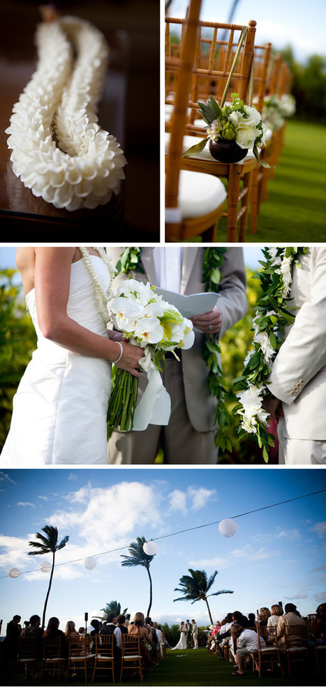 Hawaii Destination Wedding at the Four Seasons Resort Maui | WeddingWire: The Blog | All About Beach Weddings | Scoop.it