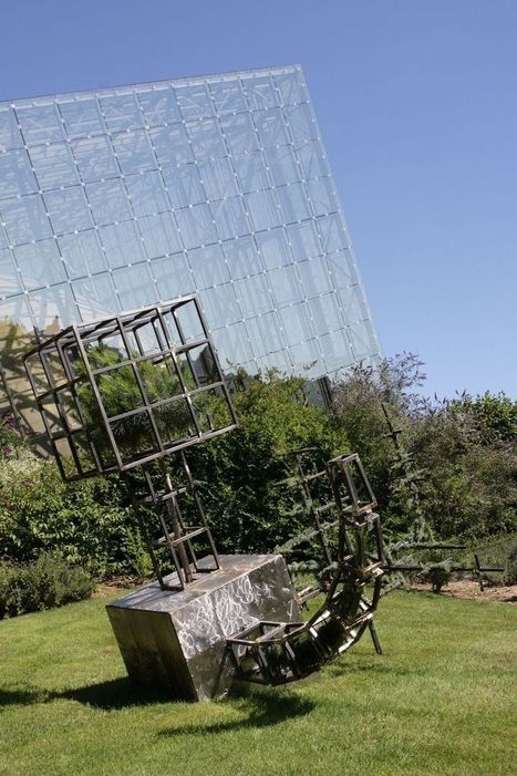 """Hard Green Cube "" by Christophe Gonnet 