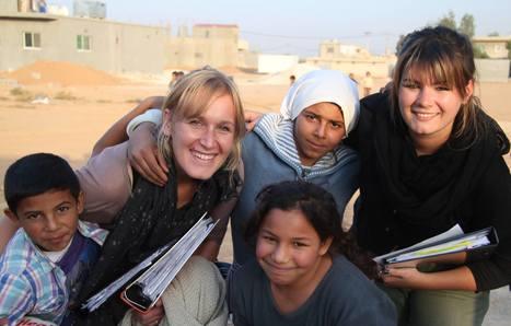 Gaëlle et Julie, deux françaises créent leur association en Jordanie.   Jeunes et Bénévoles   Scoop.it