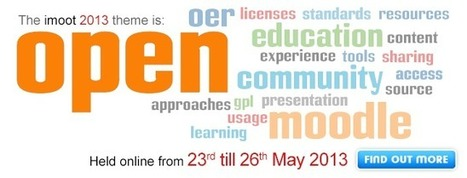 iMoot 2013 is all about being open | Moodlicious | Scoop.it