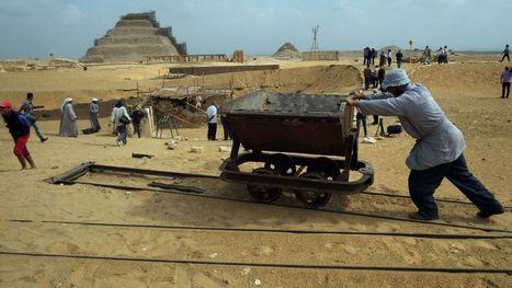 Deux tombes de chefs militaires de l'Égypte pharaonique dévoilées - RTBF Monde | Découvertes achéologiques en Egypte | Scoop.it