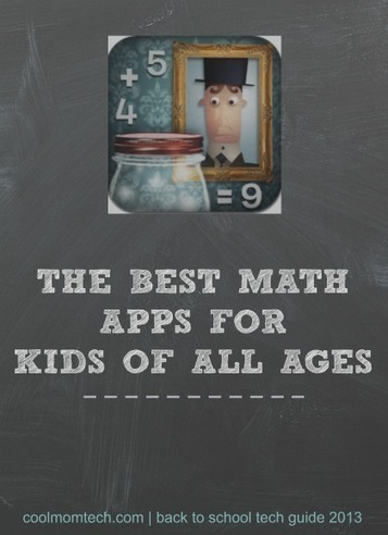 The best math apps for kids: Back to School Tech Guide 2013 | Secondary Literacy | Scoop.it