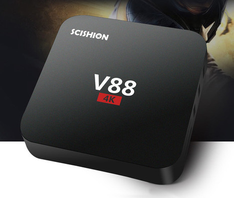 SCISHION V88 Rockchip RK3229 TV Box Sells for $19.99 (Promo) | Embedded Systems News | Scoop.it