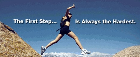 First Step is Always the Hardest   Mind Goal Success   Scoop.it
