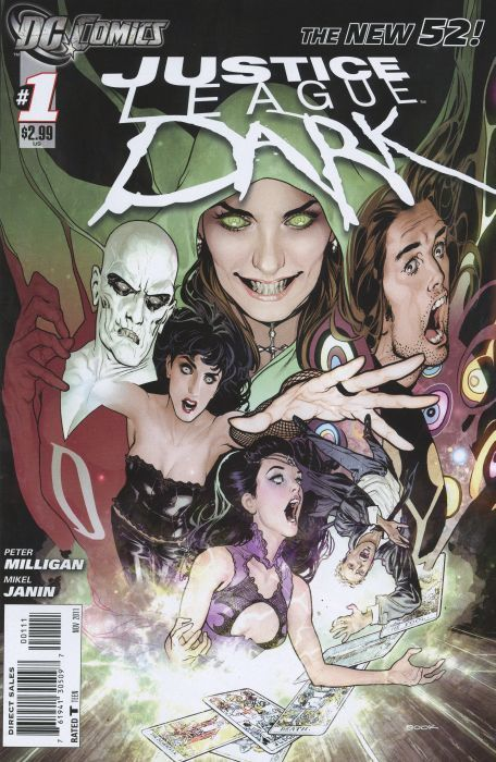 Jeff Lemire takes on JUSTICE LEAGUE DARK / DC Universe: The Source Blog | Comic Books | Scoop.it
