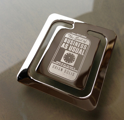 """Pre-order """"What's the Future of Business"""" get a free silver #EndofBusiness bookmark   Business Transformation   Scoop.it"""