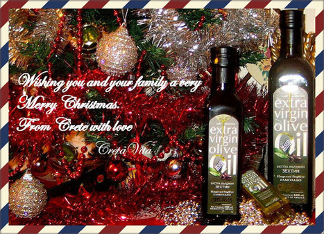 CretaVita - from Crete with Love: Merry Christmas! Καλά Χριστούγεννα! | CretaVita Extra Virgin Olive Oil Producer #OliveOil #EVOO | Scoop.it