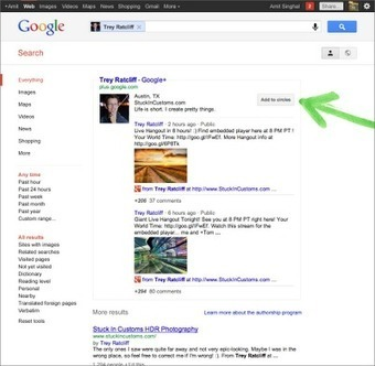 Google's Biggest Social Search Update Yet Features Google+ Content | Google Sphere | Scoop.it