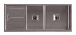 Hafele Squareline Sinks - Buy Sqaureline 100 1 + 1/2 Sink 567.30.256 at $970.00 Online | Custom Made Kitchens Renovation & Designs | Scoop.it