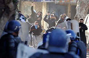 Algeria and Tunisia: Protests Threaten Repressive Regimes  - TIME | Coveting Freedom | Scoop.it
