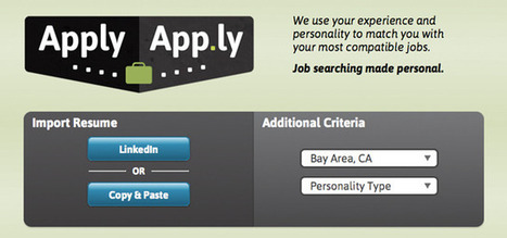 Job-hunting app matches candidates' personalities with vacancies | The digital tipping point | Scoop.it