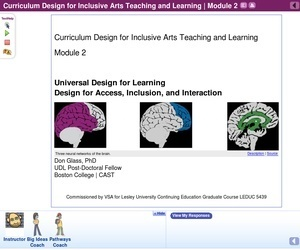 Curriculum Design for Inclusive Arts Teaching and Learning: Universal Design for Learning | OER Commons | UDL & ICT in education | Scoop.it