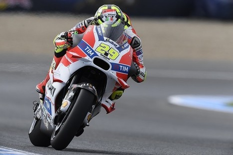 Andrea Iannone had 'possibility to stay with Ducati' in MotoGP | Ductalk Ducati News | Scoop.it