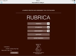 RUBRICA | An iPad rubric creation and assessment tool for Teachers | mrpbps iDevices | Scoop.it