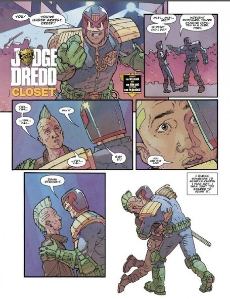It's Time For... Big Gay Judge Dredd | Comic Books | Scoop.it