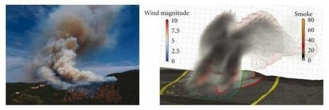 Un simulateur de propagation à grande échelle des feux de forêt | SAPEURS-POMPIERS DE LA MARNE | Scoop.it