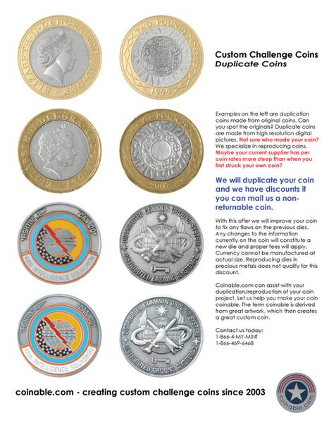 Custom Challenge Coins | Custom Challenge Coins | Scoop.it