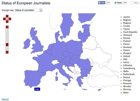 Strengthening Journalism in Europe: Tools, Networking, Training | Journalism: the citizen side | Scoop.it