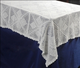 crochet tablecloth | Lace Table Cloth | Scoop.it