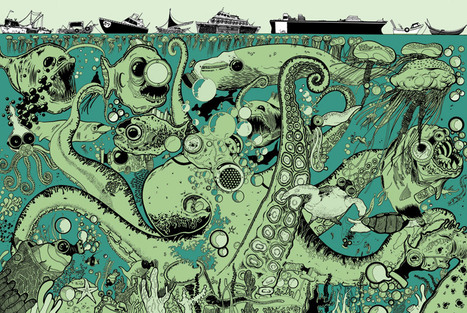 Tim McDonagh - Illustrations | Contemporary Art & Culture | Scoop.it