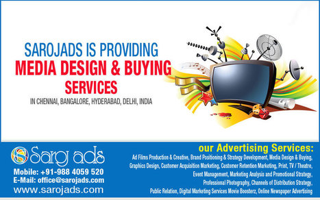 This is what Media Designing Services in India does!! | Ad film Agency | Scoop.it