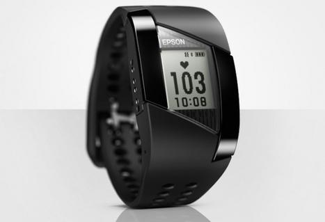 Epson lance une montre et un bracelet de monitoring d'activités - | Innovations objets connectés | Scoop.it